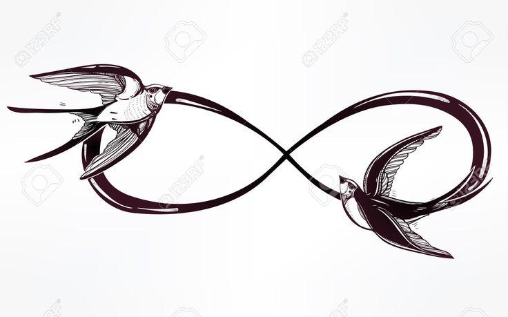 Afbeeldingsresultaat voor eternal sign + swallow