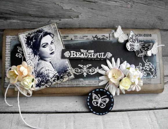Chokolade gave - Stempelglede :: Design Team Blog. 2015 © Pia Baunsgaard