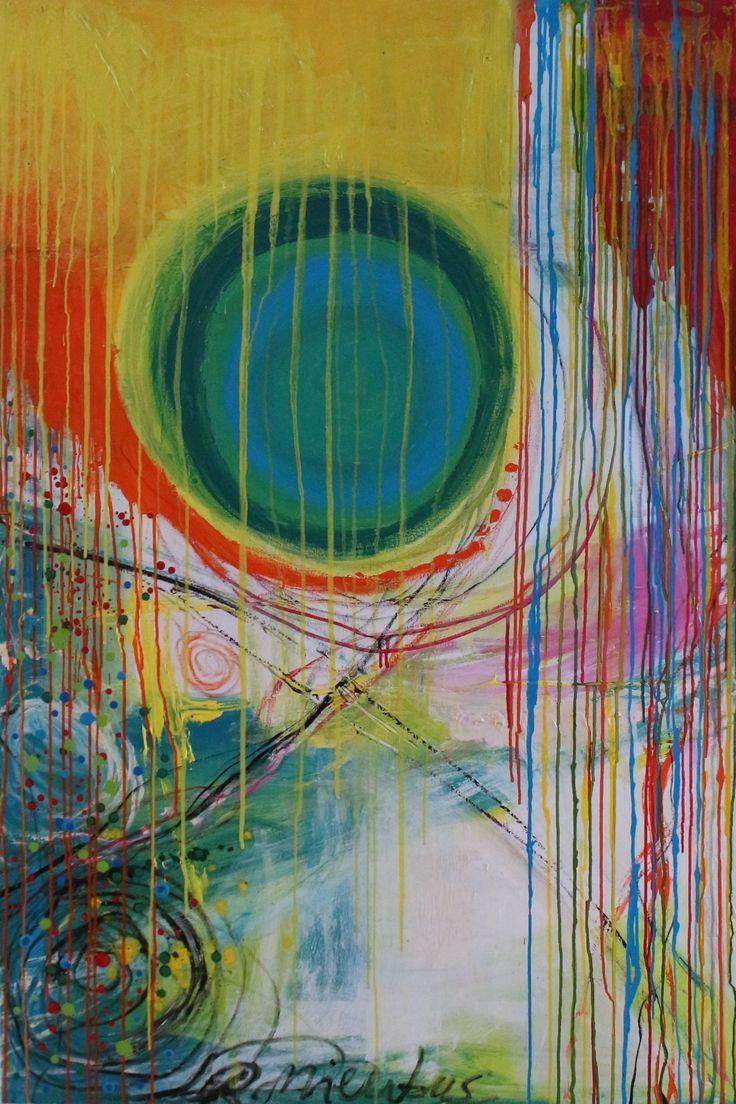 """DELIGHT"" 100X150 RENATA MIENTUS, Renata Mientus, http://maleri-rmp.jimdo.com/maleri-galleri/"