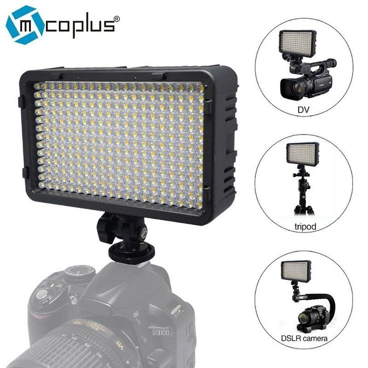 Buy US $30.60  Mcoplus 198 LED Video Photo Light Lighting Lamp for DV Camcorder & Canon Nikon Pentax Sony Panasonic Olympus Digital SLR Cameras  #Mcoplus #Video #Photo #Light #Lighting #Lamp #Camcorder #Canon #Nikon #Pentax #Sony #Panasonic #Olympus #Digital #Cameras  #Internet