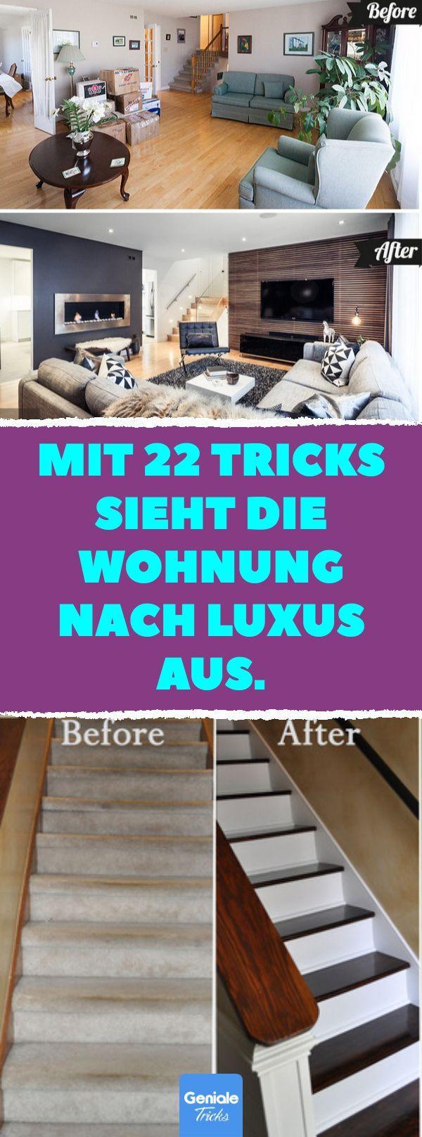 Mit 22 Tricks sieht die Wohnung nach Luxus aus. – …