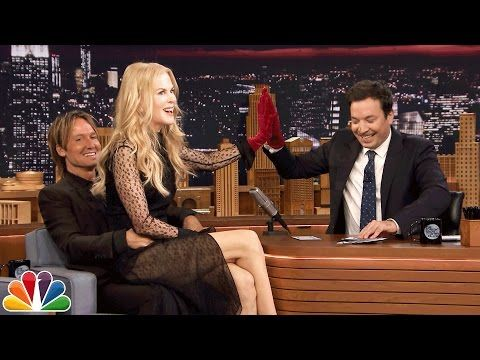 Keith Urban & Nicole Kidman Join Jimmy Fallon For Game That Will Have You Howlin' With Laughter | Country Music Nation