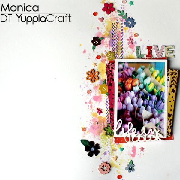 Layout dedicato ai fiori ed ai colori dell'arcobaleno.  #layout #prisma #prismayupplacraft
