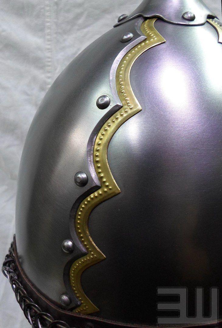 Степные воины из эпохи миграции - 14. Век – 259 photos  Helmet ofPecs  Hungary, dating from the second half  tenth cent.