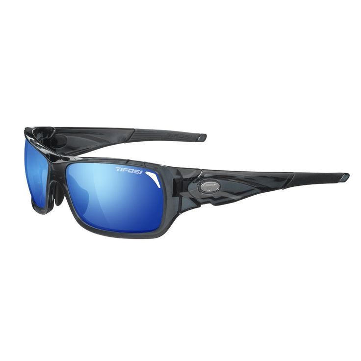 Tifosi Duro 1030102822 Dual Lens Sunglasses,Smoke,62 mm. Shatterproof, optically decentered polycarbonate lenses.