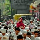 Lost In Devotion, I was on the eve of holy morning prayer of Eid-al-Adha when I have captured this innocence moments.This girl has lost in different world during the time of holy Namaz.
