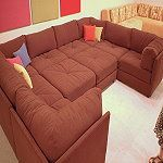 Prices for Playpen Sectional | Designer sectionals custom made to order in the USA in fabric, Ultra ...