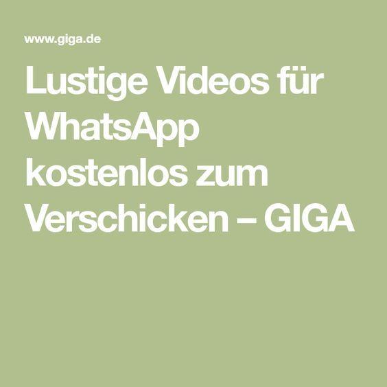 Lustige Videos für WhatsApp kostenlos zum Verschicken | video | Videos