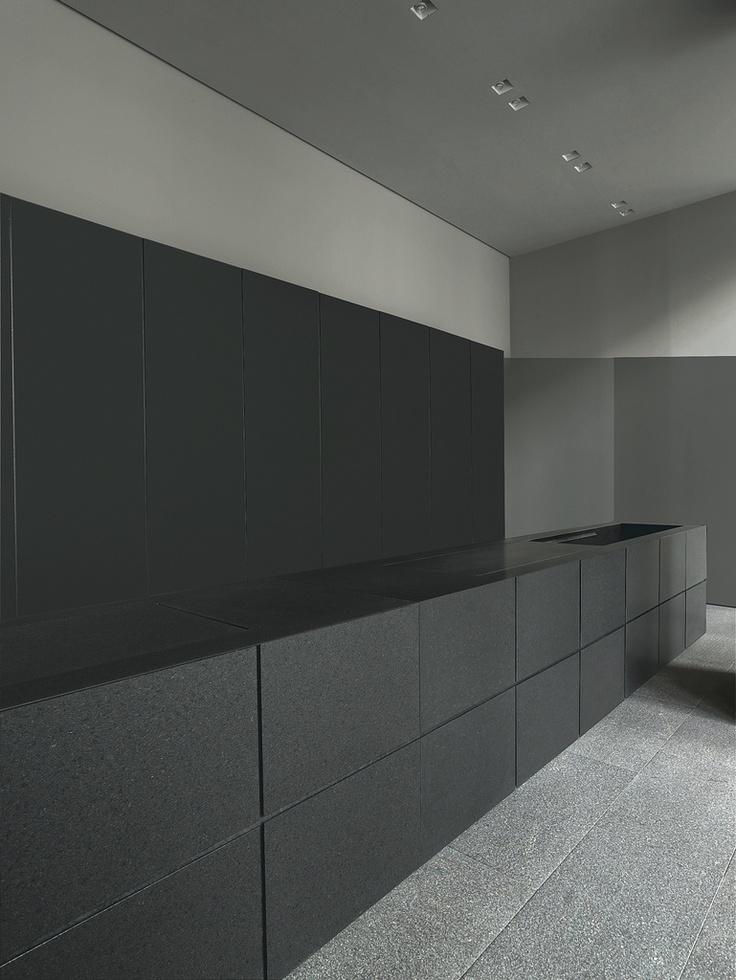 Claudio silvestrin for minotti cucine interior for Minimal cucine