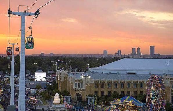 Tulsa State Fair Tulsa Oklahoma In 2020 Tulsa Oklahoma State Fair Tulsa
