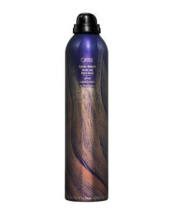 Hair: Oribe Apres Beach Wave and Shine Hairspray (recommended by The Beauty Department for humid climates). Soft, not crunchy beachy waves