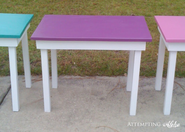 DIY child's desk