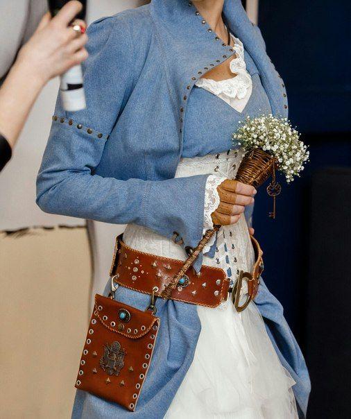 fashion designer Irina Savina, leather belt, steampunk fashion