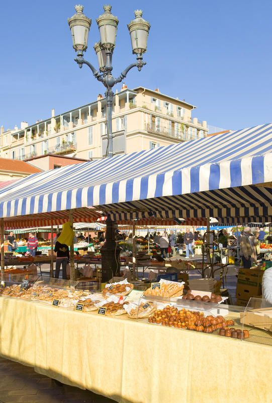 Top 10 Things to Do on the French Riviera: Take in the Flavors and Scents of the Cours Saleya market in Nice