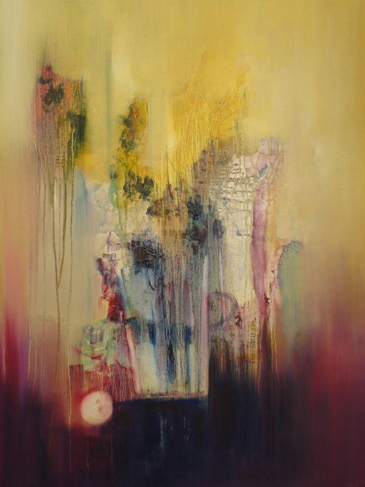 """""""Enigma"""" - Monica Medina - Oleo sobre tela - - 100 x 90 cm  www.esencialismo.com"""