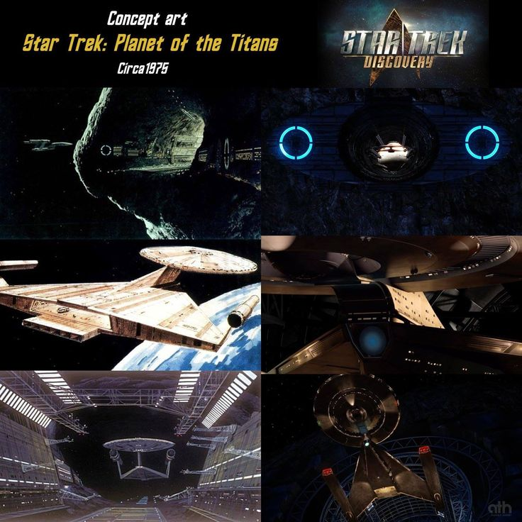 """Original Concept for New Star Trek series in 1975 and New Star Trek series """"Star Trek Discovery """" coming to CBS All Access in 2017"""