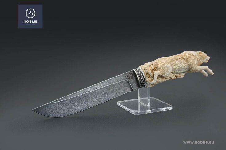 "Knife ""Running wolf"" – Noblie"