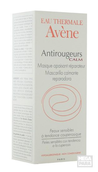 Calms red winter skin and gives your skin some much needed moisture at the same time  / Avène Avene Anti-Roodheid Calm Masker Verzacht - Hersteller 50ml, € 18.90