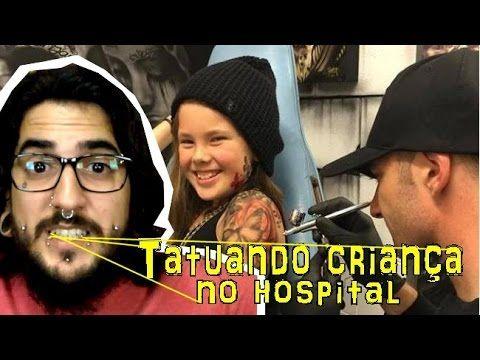 Benjamin Lloyd - Tatuador de crianças em hospitais