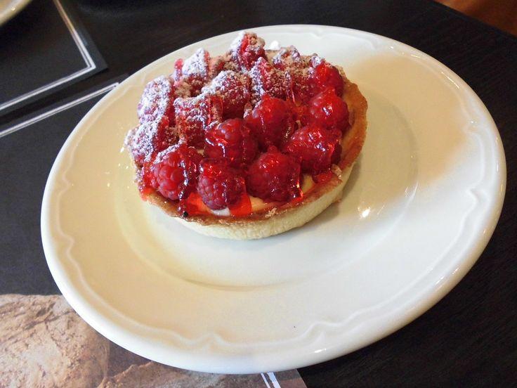 Tartelette Framboise #pastry #raspberry #tart
