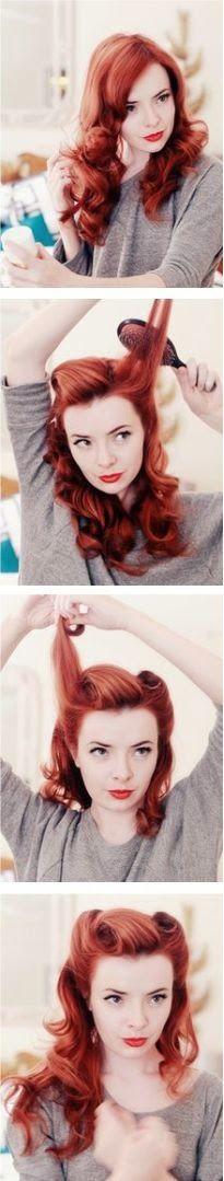 PIN UP LOOK ΜΑΘΕ ΤΑ ΠΑΝΤΑ ΑΠΟ ΤΗ STAXTOPOUTA ΚΑΙ ΤΟΛΜΗΣΕ ΤΟ! ~ staxtopouta #hair #pinup #staxtopoutagr