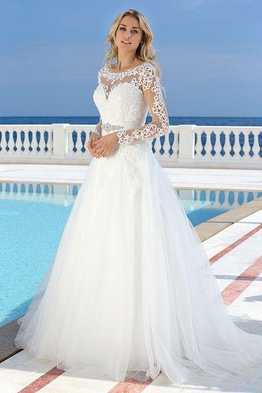 Ladybird 316061 Brautmoden und Brautkleider mit langen Ãrmeln