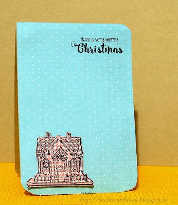 Suchi's CardStock: ATSM #203 - Holiday Card