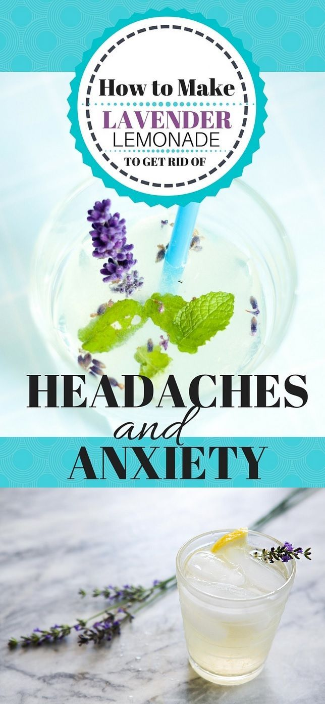 How to Make Lavender Lemonade to Relieve Headaches And Anxiety