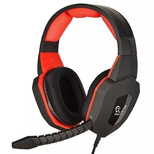 HUHD HG-939MV Stereo Sound Gaming Headset For PS4 / PS3 / XBox 360 / PC (Compatible With Xbox One Console if customer have Microsoft Adaptor), Detachable Microphone Red