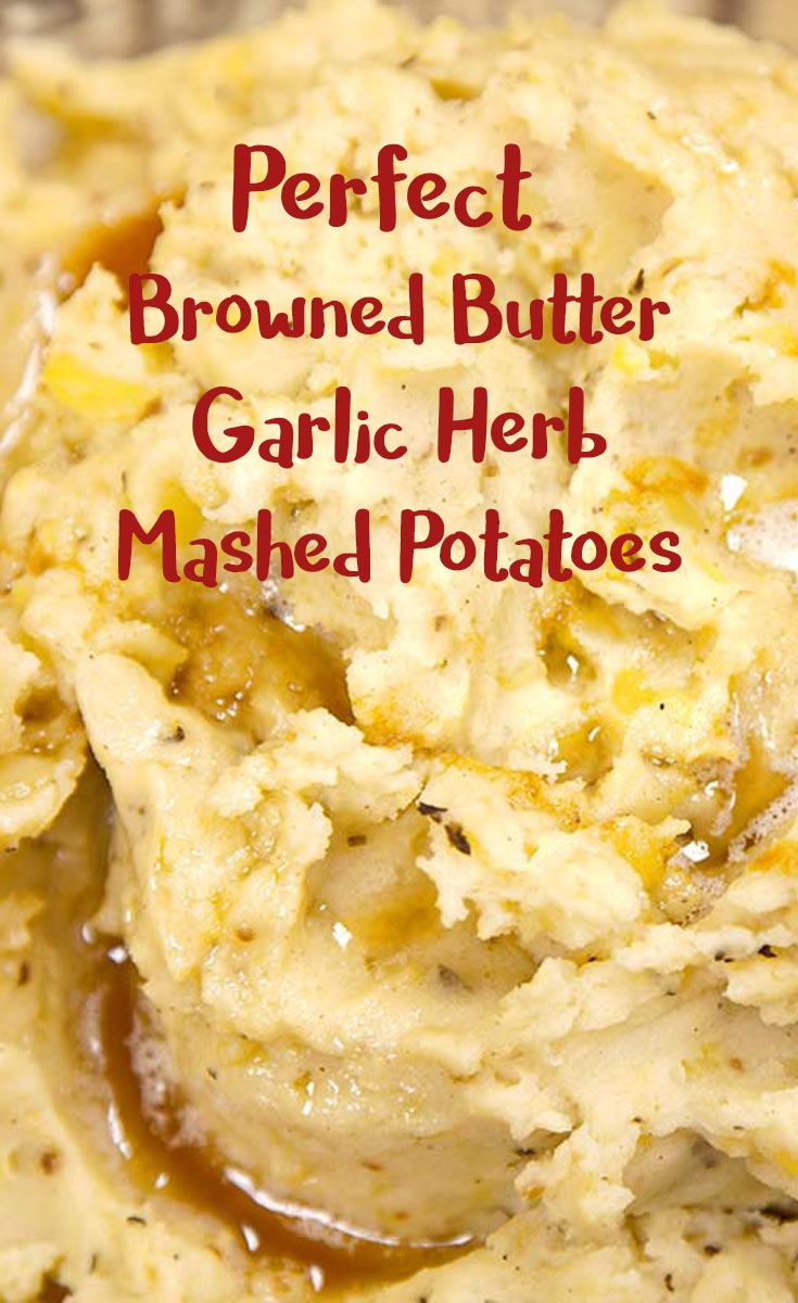 Looking for the perfect Thanksgiving mashed potatoes? Try these buttery garlic herb mashed potatoes. It's an easy recipe that gives a new, delicious twist to the old mashed potatoes dish you love so much. http://www.campchef.com/recipes/perfect-browned-butter-garlic-herb-mashed-potatoes/?utm_campaign=coschedule&utm_source=pinterest&utm_medium=Camp%20Chef&utm_content=Perfect%20Browned%20Butter%20Garlic%20Herb%20Mashed%20Potatoes