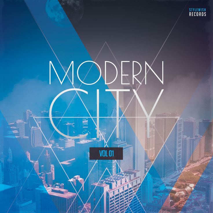 Modern City CD Cover Artwork by styleWish