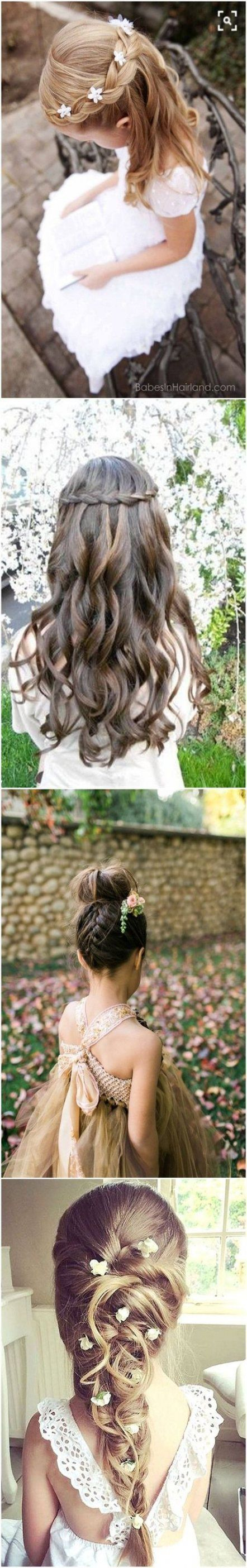 57 ideas for wedding hairstyles for kids life   – Weddings! – #Hairstyles #ideas…