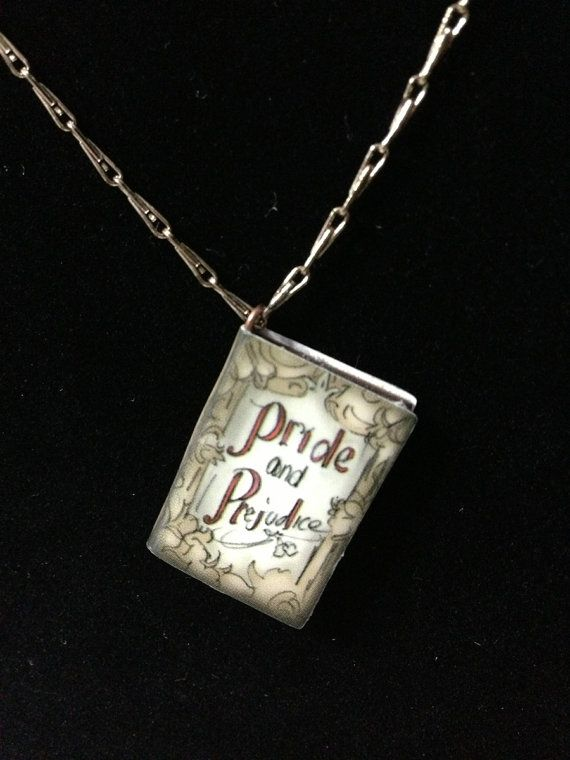 Pride and Prejudice Necklace - not a book to read but perfect for a booklover like me!