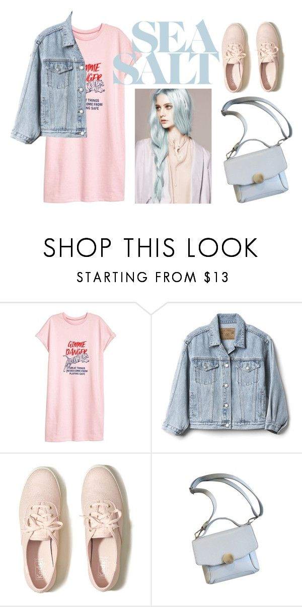 """tshirt"" by zozanazozane ❤ liked on Polyvore featuring Gap and Hollister Co."
