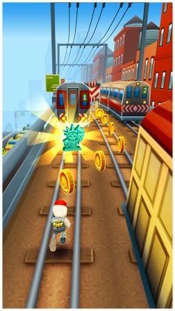 Subway Surfers 1.20.0 MOD APK (Unlimited Coin/Key) New York America Download