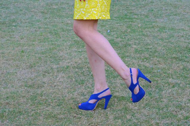 prettynyummy.blogspot #blue #pumps #shoes