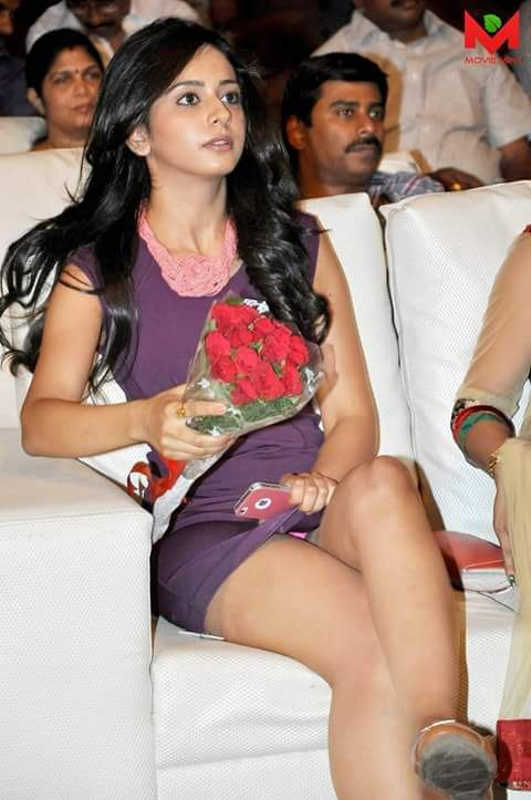 The hot sexy south indian actress rakul preet singh very hot navel show in saaree and backless cute pics.