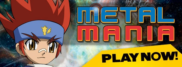 BEYBLADE Metal Mania - fun free online games at http://www.ytv.com/games