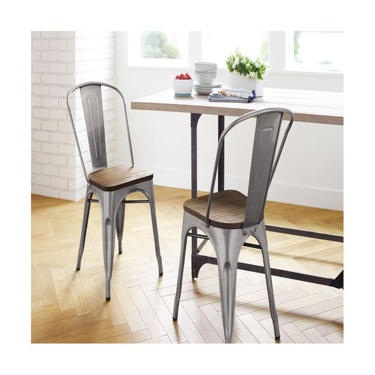 Versatile Kitchen Table And Chair Sets For Your Home: Best 25+ Metal Dining Chairs Ideas On Pinterest