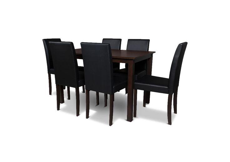 Exclusivo juego de comedorPia NTO: mesa + 6 sillas a solo S/. 599. Precio online de Ripley este 27 y 28 de abril por el #CyberMomday #mefascinamimama #ahoraenripley #regalosparamama