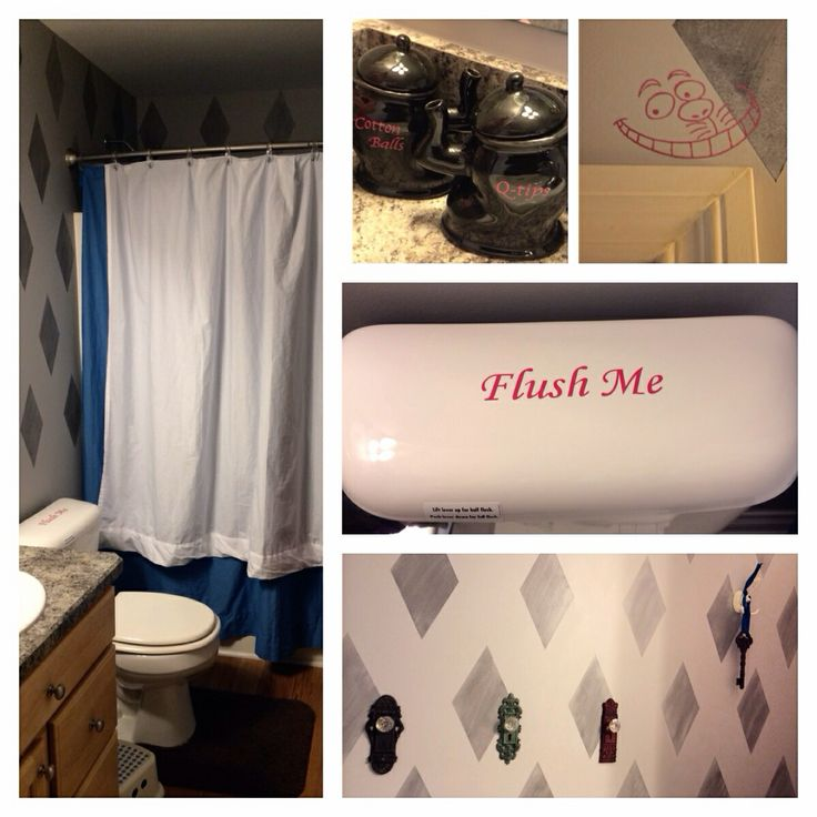 Alice In Wonderland Themed Bathroom S Pinterest Disney And Bathrooms