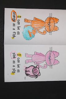Colorful Cats {to go with Pete the Cat}