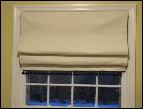 17 best images about roman shade on pinterest burlap for Fabric shades for kitchen windows
