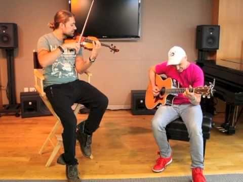 David Garrett: Private performance 7/26/2013 with Marcus :o)