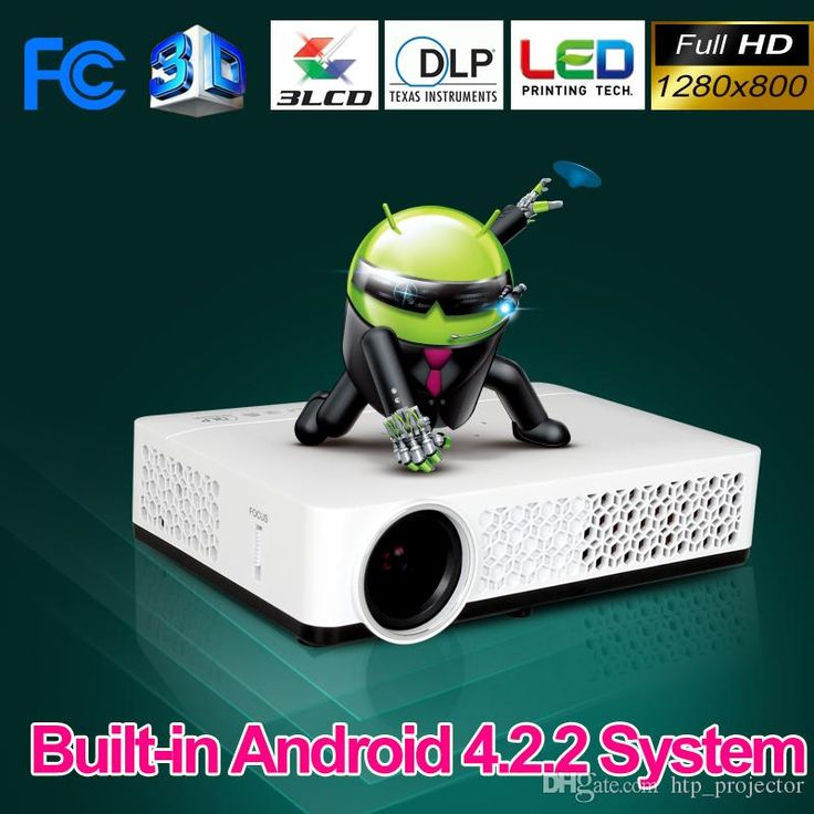 Free Gift Full HD Android Smart Mini Projector Projecteur LCD 3D WIFI Home Thearter Protable Beamer DLP Projektor 1080p HDMI/USB/VGA/AV from Htp_projector,$451.52 | DHgate.com