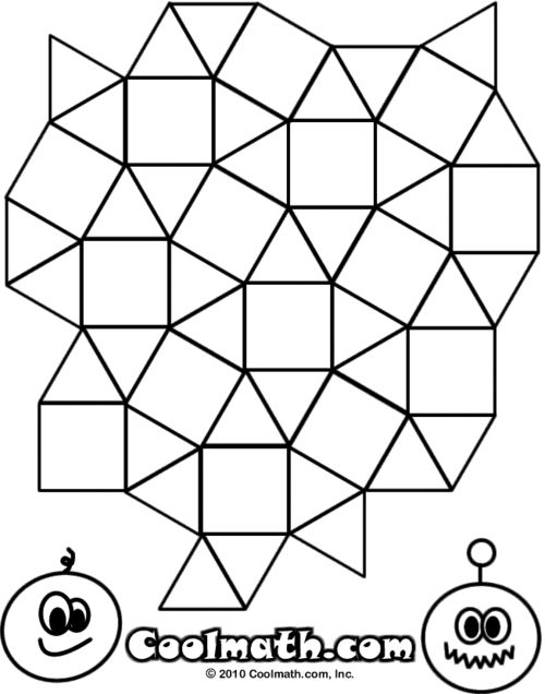 Coloring Pages (Sheets) for Kids at Cool Math Games - Free ...