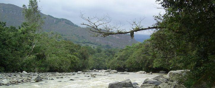 NO más explotación minera en el río Garagoa - Colombia