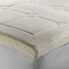 Theic Deluxe 3 Luxury Quilted Memory Foam Mattress Topper