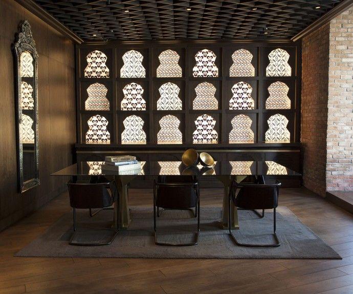 W Istanbul salon design