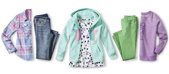 girls new clothing arrivals